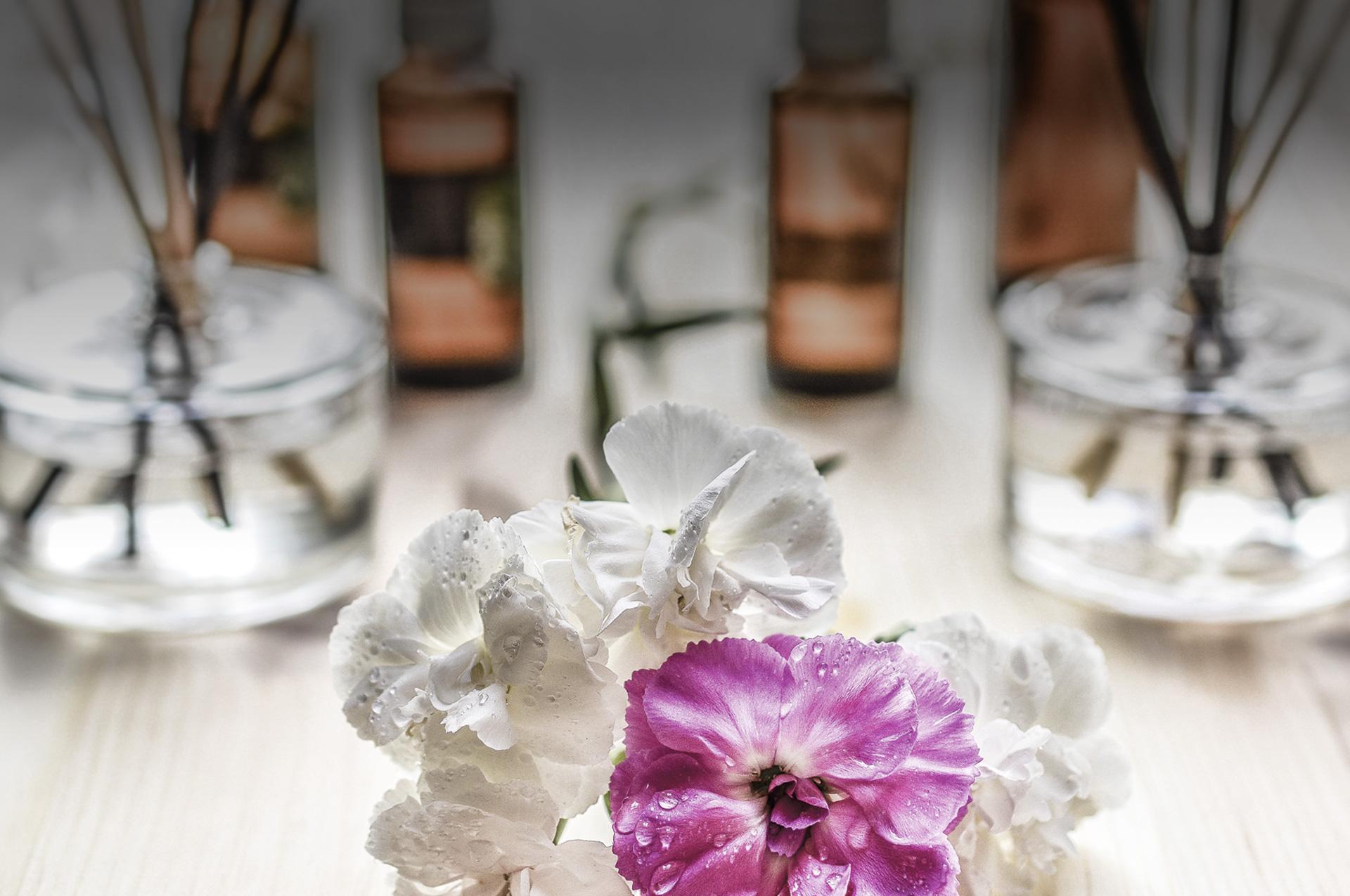 Flor Xarma y aceites